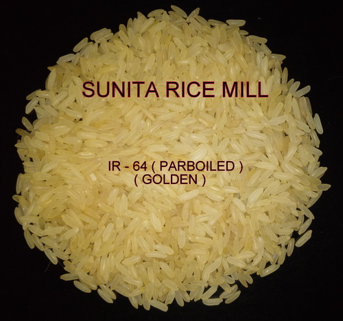 IR 64 Parboiled Rice (Golden)