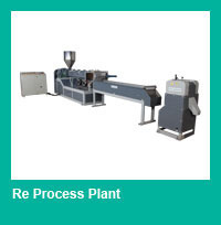 Waste PET Plastic Recycling Granulating Production Line, Machine