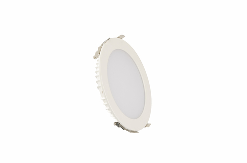 LED PANEL LIGHT-PREMIUM BACKLIT ROUND RECESSED