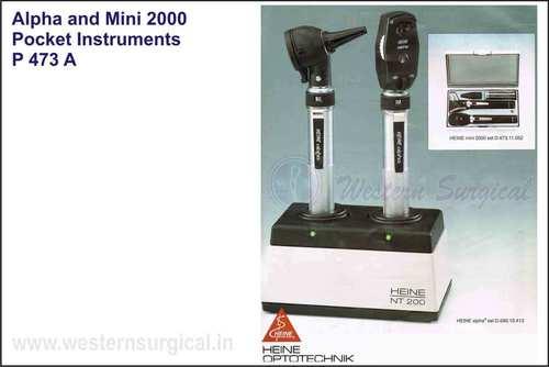 Alpha And Mini 2000 Pocket Instrument