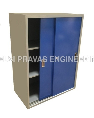 Vertical File Slider Cabinet