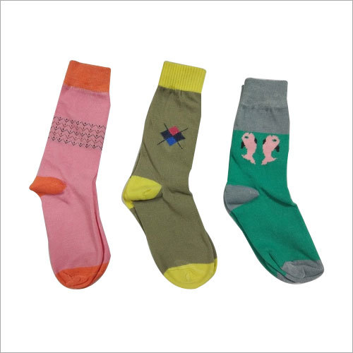 COTTON LYCRA CHILD FASHION Socks