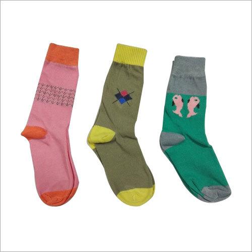 COTTON LYCRA CHILD FASHION Socks