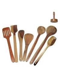 Desi Karigar Wooden Skimmer Set Of 8
