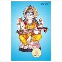 Fibre Saraswati Maa Idol