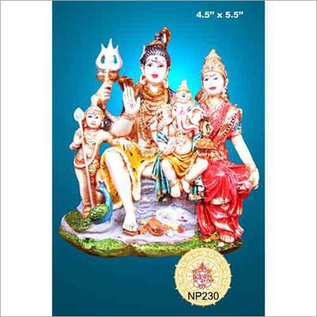 Fibre Shiv Parivar Idols