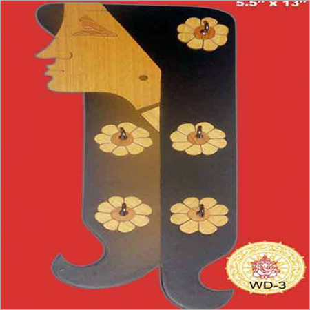 Wooden Girl Picture Items