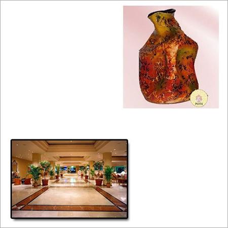 Designer Flower Pot for Hotels