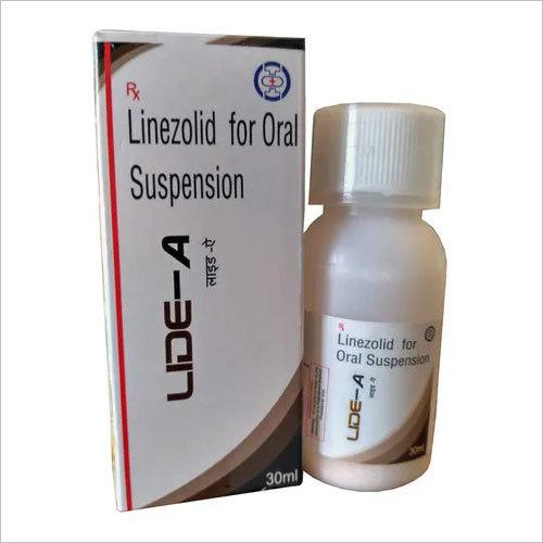 Linezolid for oral suspension