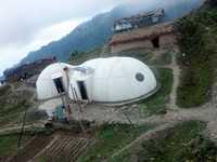 Prefabricated hut home