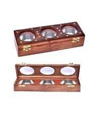 Desi Karigar Handicraft Brown Dry Fruit Box (3)