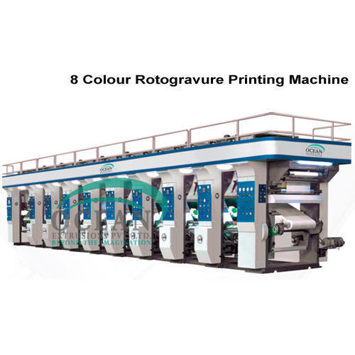 8 Colour Rotogravure Printing Machine
