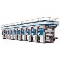 6 Color Rotogravure Printing Line Rotogravure Printing Press