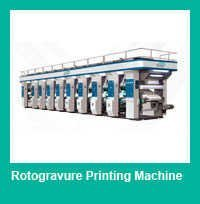 4 Color Rotogravure Printing Press