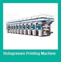 4 Color Rotogravure Printing Press