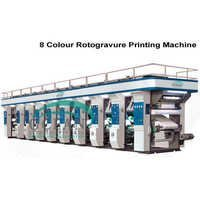 Multi Color 4 To 8 Color Rotogravure Printing Machine