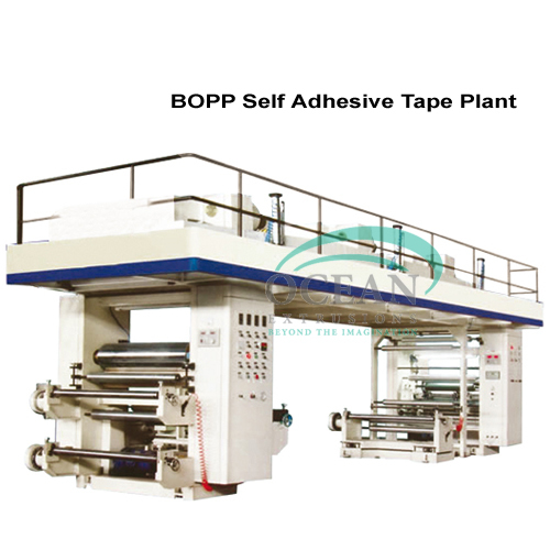 Self Adhesive Machine Line