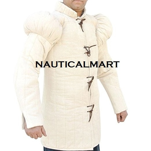 Medieval 15th Century Gambeson - Natural