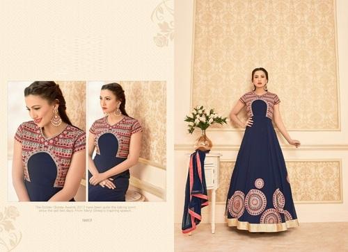 Buy Designer Long Anarkali Suit Online
