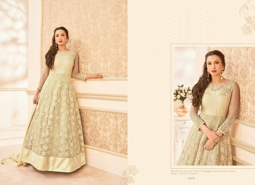 Buy Designer Fully Work Anarkali Suit Online