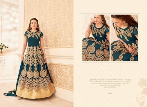 Buy Embroidery Work Anarkali Suit Online