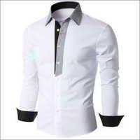 Men's Designer White Shirt