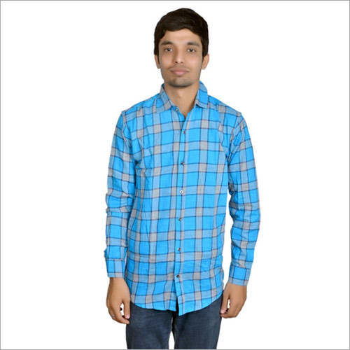 Men's Designer Check Shirt