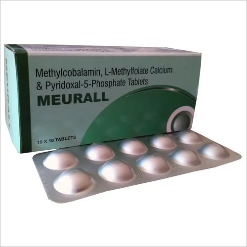 Methylcobalamin l-methylfolate calcium & pyridoxal-5-phosphate tablets