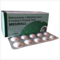 Methylcobalamin l-methylfolate calcium & pyridoxal-5-phosphate tablets