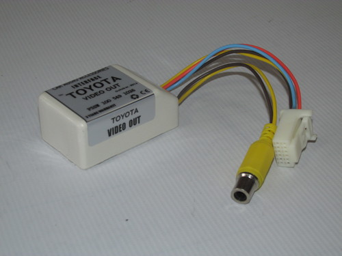 Toyota Video Out Adapter