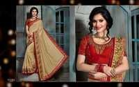 Golden Silk Saree