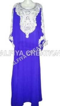 Stone Work Wedding Kaftan Jalabiya