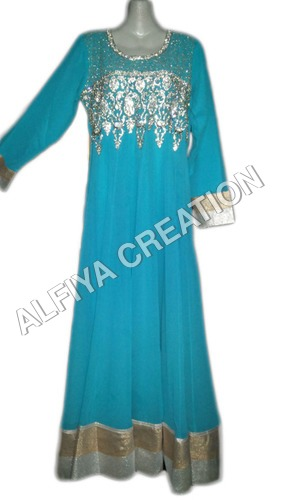 Long party wear maxi dress kaftan