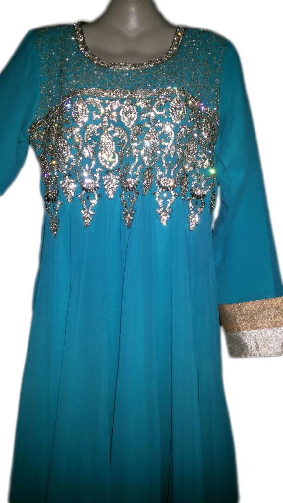 Long party wear maxi dress kaftan