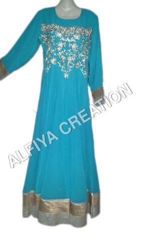 Attractive evening party wear fancy kaftan maxi dress