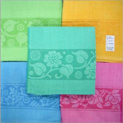 Solid Jacquard Towels