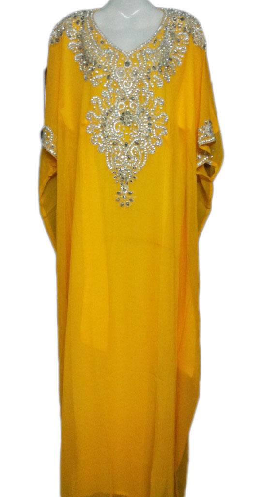 Evening Wear Beaded Kaftan Farasha