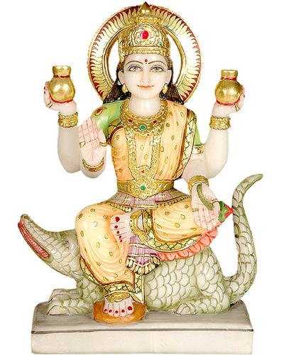 Makrana marble Ganga statue sculptures