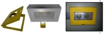 Electrical Panel Lockout Box