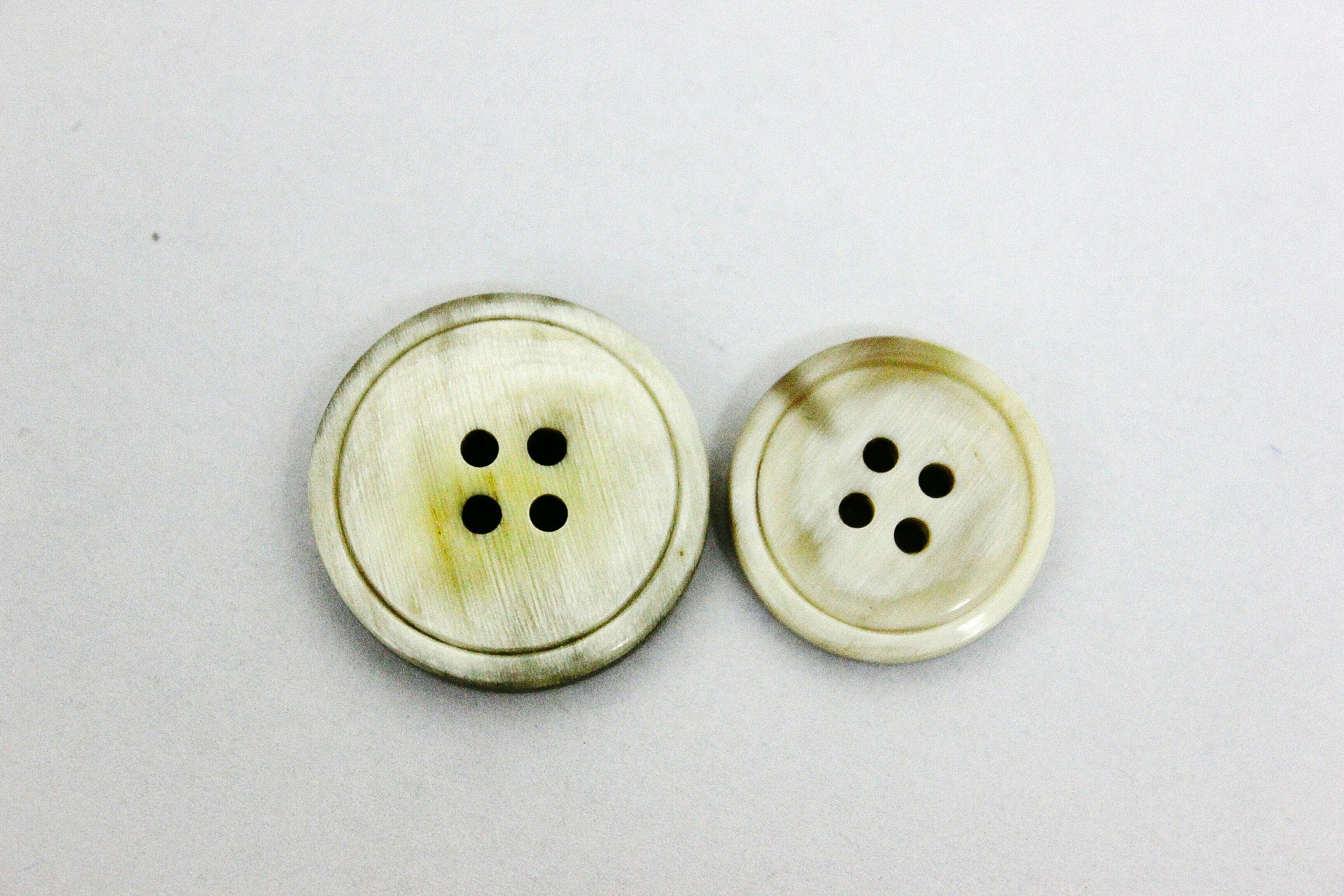 Bull Horns Button