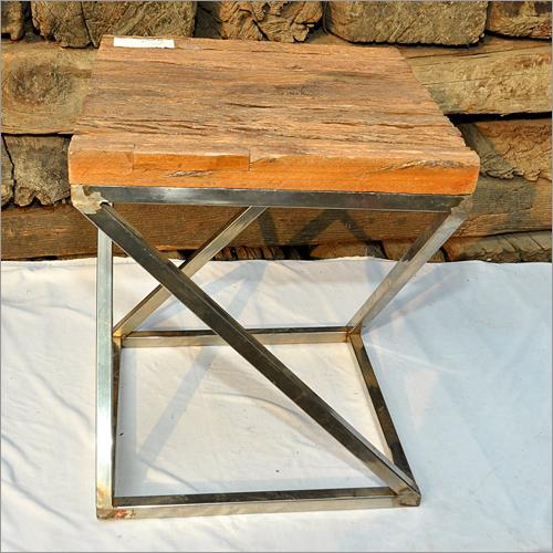 Railroad Tie Wood Table