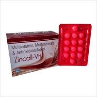 Antioxidant Multivitamin and Multimineral Tablets