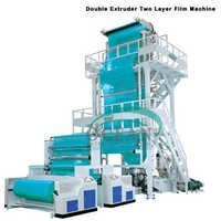 Double Extruder Two Layer Film Machine