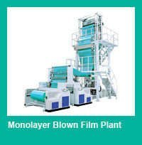 Mono Layer Blown Film Plant- Mono Layer Blown Film Line