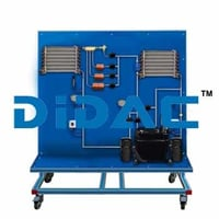 Compression Refrigeration Unit With Different Capillary Tubes