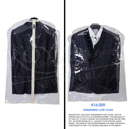 Transparent Cover For Men's Designer Coat Suits
