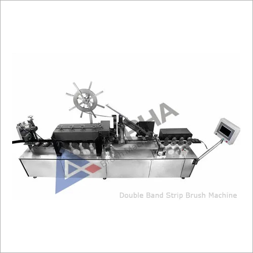 Double Band Strip Brush Machine