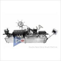 Double Band Strip Brush Machine