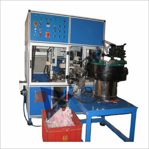 Spiral Filament Machine And Inserting Handle Machine