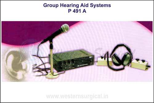 GROUP HEARING AID SYSTEMS  FOR DEAF-TRAINING INSTITUTIONS